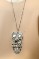 Doll up your simple ensembles, with this adorable owl pendant necklace. Necklace $24.90